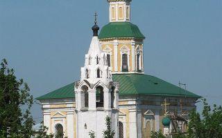 Церковь георгия победоносца во владимире, россия, город владимир