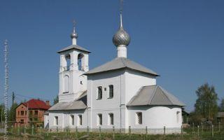 Церковь толгской иконы божией матери в ростове великом, россия, город ростов великий