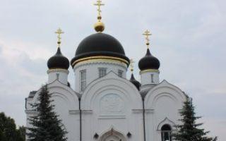 Задонский монастырь, россия, липецкая область, город задонск