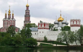 Новодевичий монастырь, россия, город москва