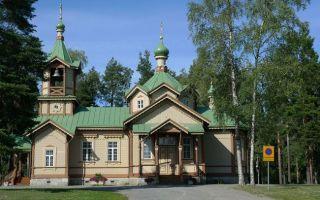 Церковь святителя николая в йоэнсуу, финляндия, город йоэнсуу (joensuu)
