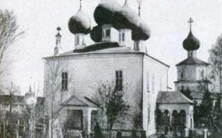 Собор успения богородицы в успенском желтиковом монастыре, россия, тверская область, село борихино, улица борихинская