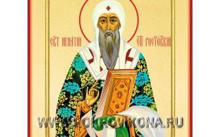 Святитель игнатий ростовский
