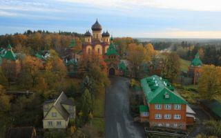 Пюхтицкий успенский монастырь, эстония, уезд ида-вирумаа, волость иллука, деревня куремяэ