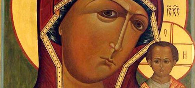Икона божией матери казанская пензенская, россия, город пенза, храм святителя митрофана воронежского