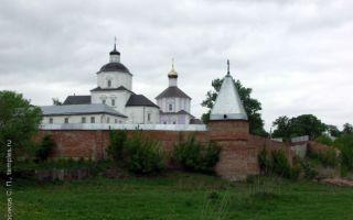 Рыльский монастырь, россия, курская область, рыльский район, село пригородная слободка