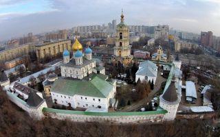 Новоспасский монастырь, россия, город москва