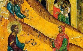 Неделя о самаряныне, триодь