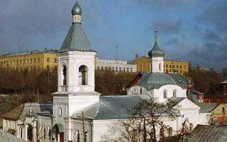 Церковь спаса нерукотворного образа (воронеж), россия, город воронеж
