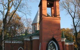Церковь рождества иоанна предтечи на каменном острове, россия, город санкт-петербург