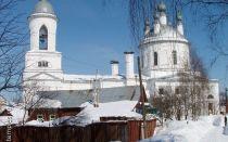 Церковь илии пророка в иванове, россия, город иваново