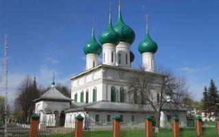 Собор федоровской иконы божией матери в ярославле, россия, город ярославль