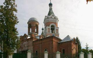 Церковь ахтырской иконы божией матери вможайске, россия, московская область, можайский район, город можайск