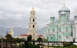Дивеевский монастырь, россия, нижегородская область, дивеевский район, село дивеево