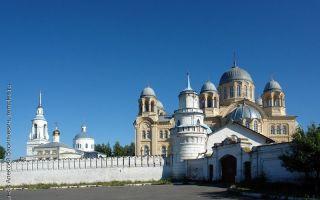 Верхотурский николаевский монастырь, россия, свердловская область, город верхотурье