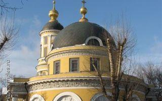 Храм иконы божией матери «всех скорбящих радость» на ордынке, россия, город москва