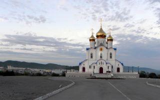 Троицкий собор в петропавловске-камчатском, россия, камчатский край, город петропавловск-камчатский