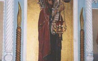 Икона божией матери боголюбская (зимаровская)