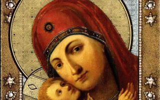 Икона божией матери девпетуровская, россия, город тамбов, спасо-преображенский собор