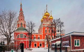 Церковь воскресения христова в кадашах, россия, город москва