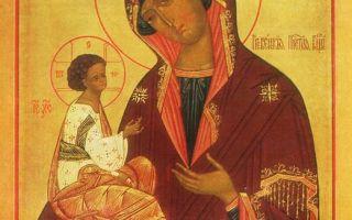 Икона божией матери гребневская (гребенская)