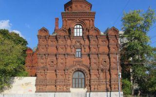 Храм всемилостивого спаса в скорбященском монастыре, россия, город москва