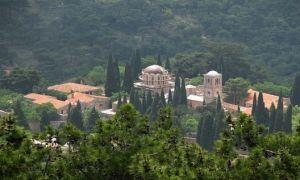 Неа мони, греция, остров хиос