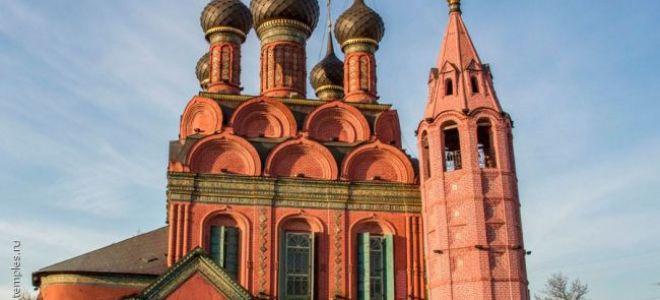 Церковь богоявления господня в ярославле, россия, город ярославль