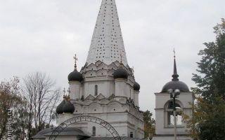 Храм покрова пресвятой богородицы в медведкове, россия, город москва