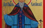 Преподобный иоанн солунский (фессалоникийский)