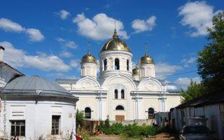 Церковь никиты великомученика в кашире, россия, московская область, город кашира