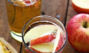 Квас яблочный на меду