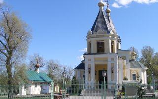 Церковь казанской иконы божией матери (александровская), россия, город санкт-петербург, александровская