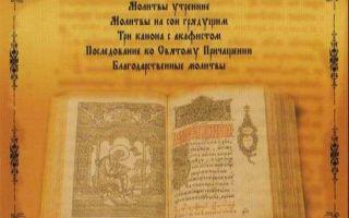 Чин келейного (домашнего) чтения акафистов и канонов
