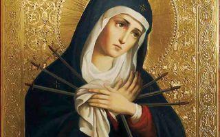 Икона божией матери «умягчение злых сердец» («симеоново проречение»)