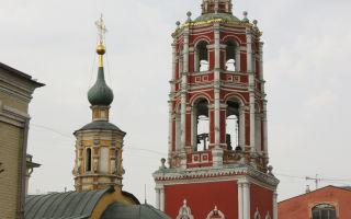 Высоко-петровский монастырь, россия, город москва