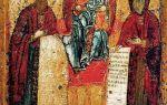 Икона божией матери свенская (печерская), россия, город москва, государственная третьяковская галерея