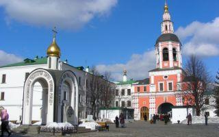 Данилов монастырь, россия, город москва