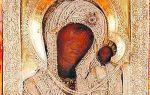 Икона божией матери казанская вязниковская, россия, владимирская область, город вязники, крестовоздвиженский храм