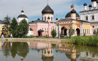 Вознесенская давидова пустынь, россия, московская область, чеховский район, село новый быт