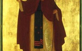 Преподобный стефан махрищский