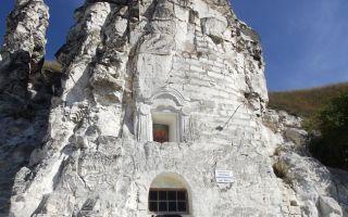 Пещерный храм сицилийской иконы божией матери, россия, воронежская область, лискинский район, село дивногорье