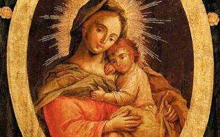 Икона божией матери пожайская, литва, город каунас, пажайслисский монастырь, костел сретения девы марии и елизаветы