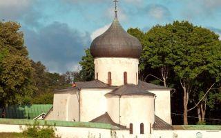 Мирожский монастырь, россия, город псков