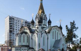 Икона божией матери страстная, россия, город москва, храм воскресения христова в сокольниках
