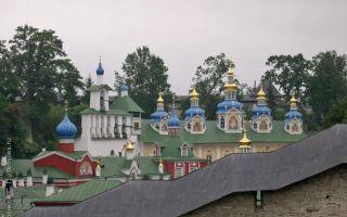 Псково-печерский монастырь, россия, псковская область, город печоры