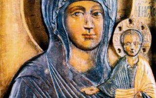 Икона божией матери влахернская, россия, город москва, кремль, музеи кремля