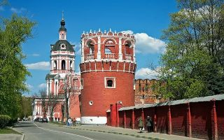 Донской монастырь, россия, город москва
