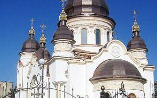 Собор благовещения пресвятой богородицы в кировограде, украина, город кировоград