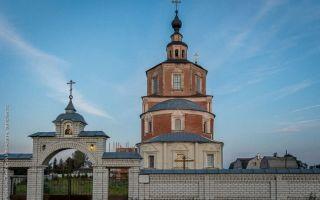 Карачевский воскресенский монастырь, россия, брянская область, карачевский район, село бережок